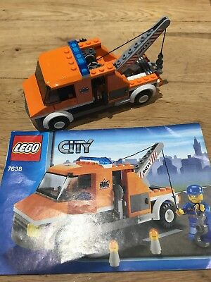 """LEGO CITY Airport Garage """"BREAKDOWN TOW TRUCK & DRIVER"""" 7638 New ..."""