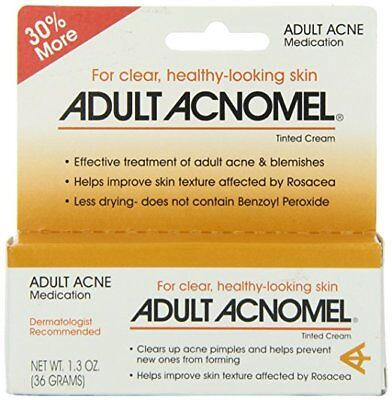 Adult Acnomel Tinted Cream 1.3 oz (3 Pack)