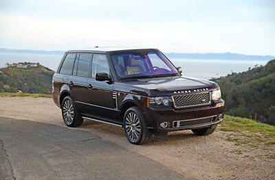 2012 Land Rover Range Rover Autobiography Ultimate Edition 2012 Land Rover Range Rover Autobiography Ultimate Edition: 35k Miles, Amazing