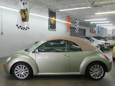 Volkswagen New Beetle Convertible 2dr Automatic SE $8000 includes SHIPPING! MONEYBACK GUARANTEE 1 OWNER CLEAN CARFAX NONSMOKER