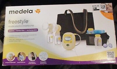 NEW  Medela Freestyle Double Electric Breast Pump Deluxe Set