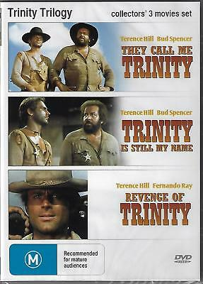 Trinity Trilogy DVD [They Call Me Trinity/Trinity Is still My Name/Revenge of]