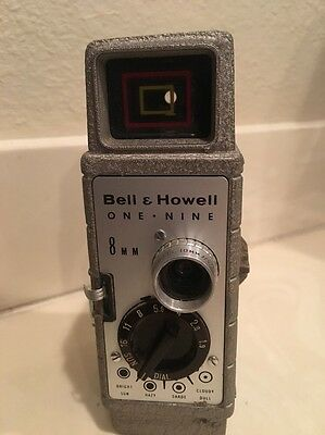 Bell & Howell One Nine 8mm Film Movie Camera