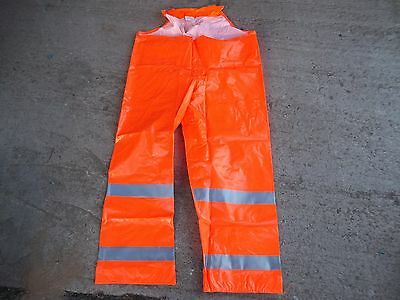 Tingley O53129 Rain Pants, Hi-Vis Orange, Large Comfort Brite New