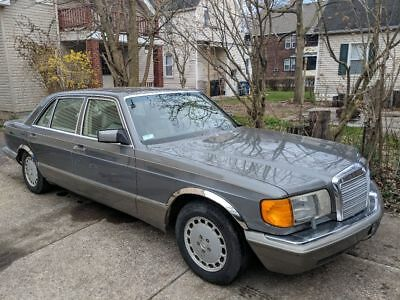 1990 Mercedes-Benz 500-Series 560SEL Mercedes-Benz 500 series 560sel w126 m117 v8 engine