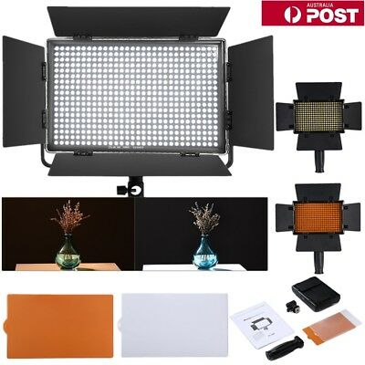 LED Video Light Dimmable Ultra High Power Panel Light for DSLR Camera Camcorder