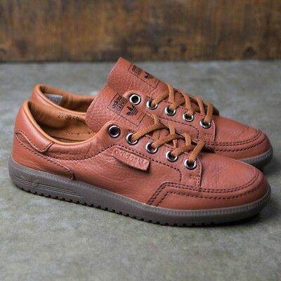 promo code 4d0c5 952b2 Adidas Garwen SPZL Special Spezial Brown Leather Supcol BA7723 Mens 8.5