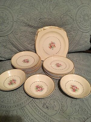 Paden City Pottery Square Dishes