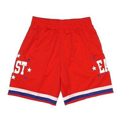 131122bbe49 1983 NBA All Star East Mitchell & Ness Throwback Swingman Red Shorts Men's