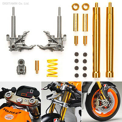 Tamiya 12667 New 1/12 FRONT FORK SET f/ 14130 Repsol Honda RC213V '14 from Japan