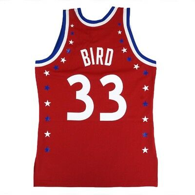 9240c6713e0 Larry Bird 1983 NBA All Star East Mitchell   Ness Authentic White Jersey  Men s
