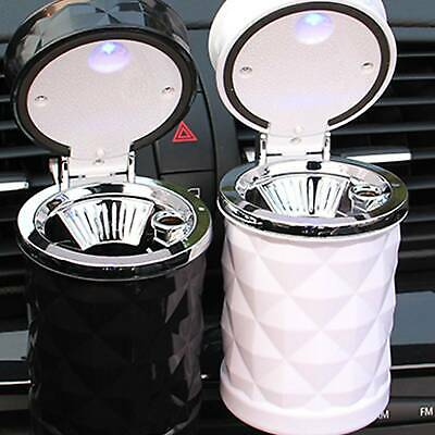 Cigarette Smoke Car Ashtray Ash Cylinder Cup Holder with LED Fashion Universal