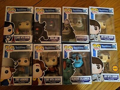 Netflix Trollhunters SET of 8 POP Vinyl Figures incl Jim With Gnome Chase L.E