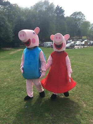 Peppa Pig And George Mascot/Costume Hire Bedfordshire : mascot costumes for hire  - Germanpascual.Com