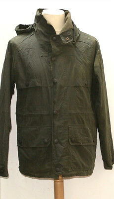 Great Men Barbour T90 Coldstream Jacket Small Green