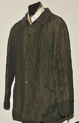 Barbour Classic Eskdale Quilted Jacket Ex Large Green
