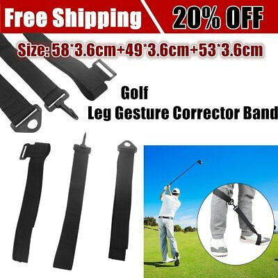 Golf Swing Posture Elbow Brace Corrector Alignment Guide Training Support ToolZI