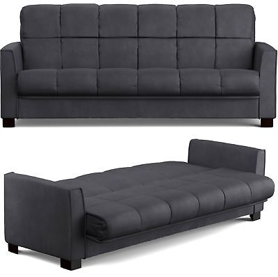 Convertible Sofa Futon Bed Sleeper Couch Lounge Loveseat Living Room Furniture