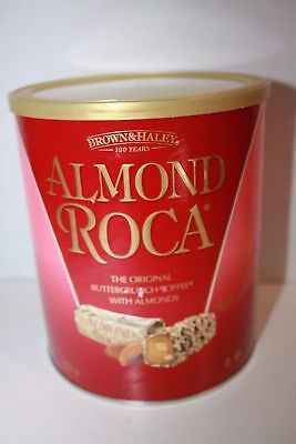 ROCA COLLECTION Brown and Haley Almond Roca Canister 822 GRAMS NEW