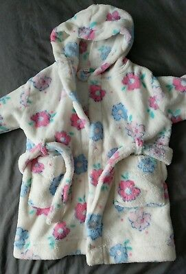 John Lewis Baby Girl Dressing Gown 6 to 9 months