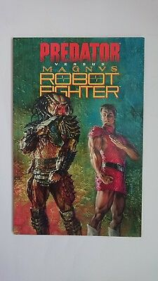 Predator vs Magnus robot fighter. Complete editions 1 & 2(extremely rare in UK)