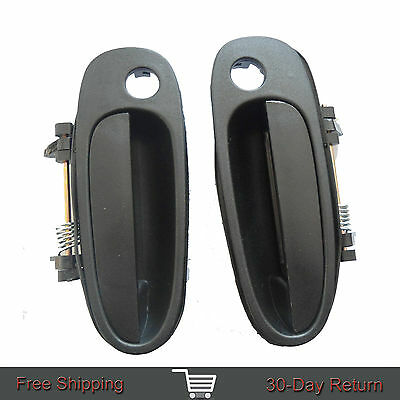 Fit 93-97 Toyota Corolla GEO Outside Exterior Front Left Right Side Door Handle