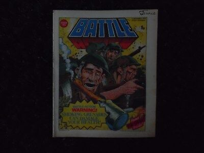 BATTLE ACTION COMIC ISSUE NO.193 11th NOVEMBER 1978
