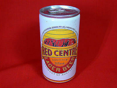 Vintage RED CENTRE LAGER Beer Can - Alice Springs, NT - COLLECTABLE BEER CAN