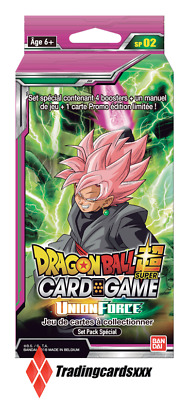 ♦Dragon Ball Super Card Game♦ Set Pack Spécial Série 2 : Union Force - VF