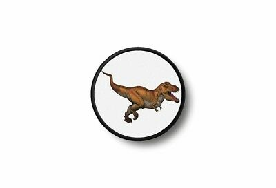 Patch badge insigne ecusson  imprime thermocollant dinosaure t-rex tyranosaure