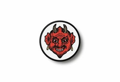 Patch badge insigne ecusson brode imprime thermocollant biker diable 666