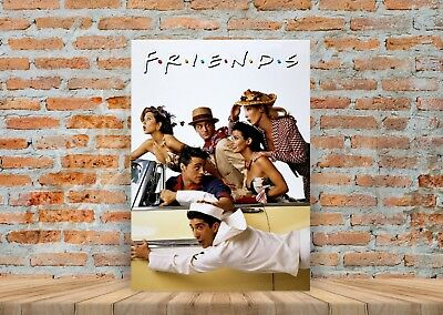 Friends TV Show Poster or Canvas Art Print - A3 A4 Sizes