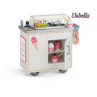 American Girl Ice Cream Cart Truly Me For Dolls New In Box