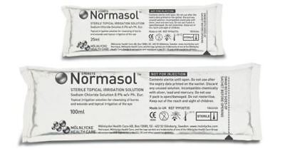 Sterets Normasol Sterile Topical Irrigation Solution Sachets, 100ml