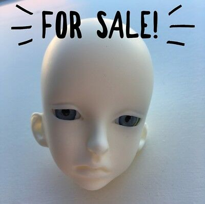 doll leaves 1/4 bjd jeremy head only with eyes