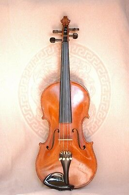 Violin 4/4 1890-1900 Very Good Conditions Bow Case Tuner Rosin, Good Sound !