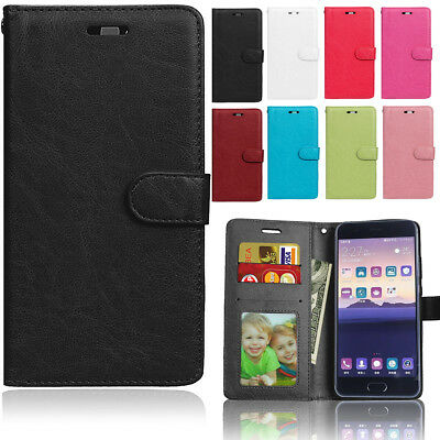 Leather Wallet Magnetic Flip Stand Card Slot Phone Case Cover For Various Phone