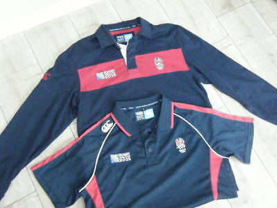 2015 England World cup Rugby Shirts,large men's.