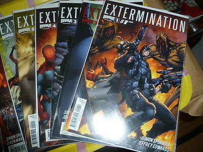 EXTERMINATION 1-8 2 3 4 5 6 7 SET BOOM! COMICS VF/NM Spurrier