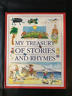 My Treasury of Stories and Rhymes Large Book and Print 192 Pages