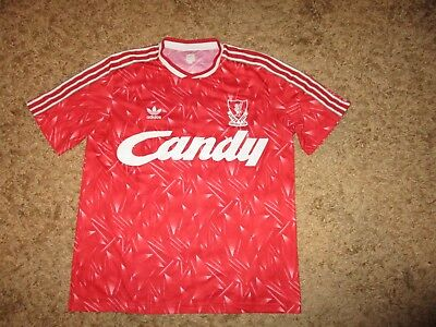 9fff64321 ADIDAS rare LIVERPOOL FC shirt jersey vintage oldschool retro CANDY maillot  LFC