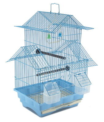 Two Story Bird Cage Starter Kit - Blue House Style