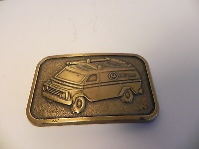 Vintage Bell Systems Van Belt Buckle Mabe By Grossman Co. New York