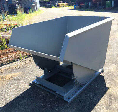 1.5 yd Self-Dumping Hoppers, USED