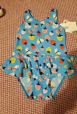 John Lewis girls swimming costume 12-18 months new with tags