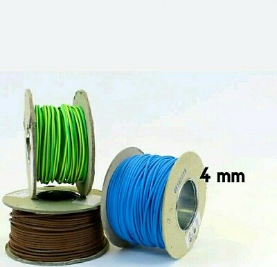 4mm Single core electric cables  BRAND NEW!