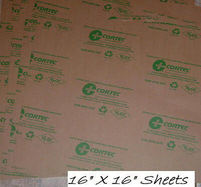 VCI Protective Storage Paper    S&W  18 Sheets   Made in USA