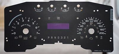 2011 - 2014 Ford F150 Small Window Gauge Overlay/Faceplate - Prnd321 For Sale