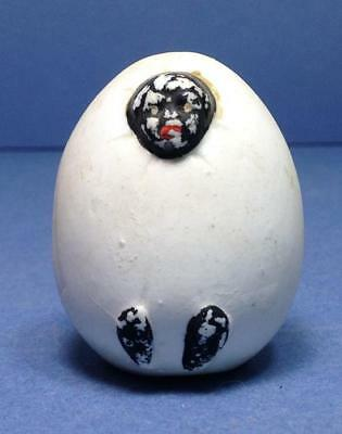 Antique Vintage Victorian Naughty Bisque Egg Hatching Black Baby SMALL HEAD