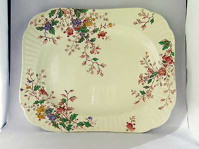 """Antique Serving Platter 13""""  'Washington' by Booths China England 1912+ mark"""